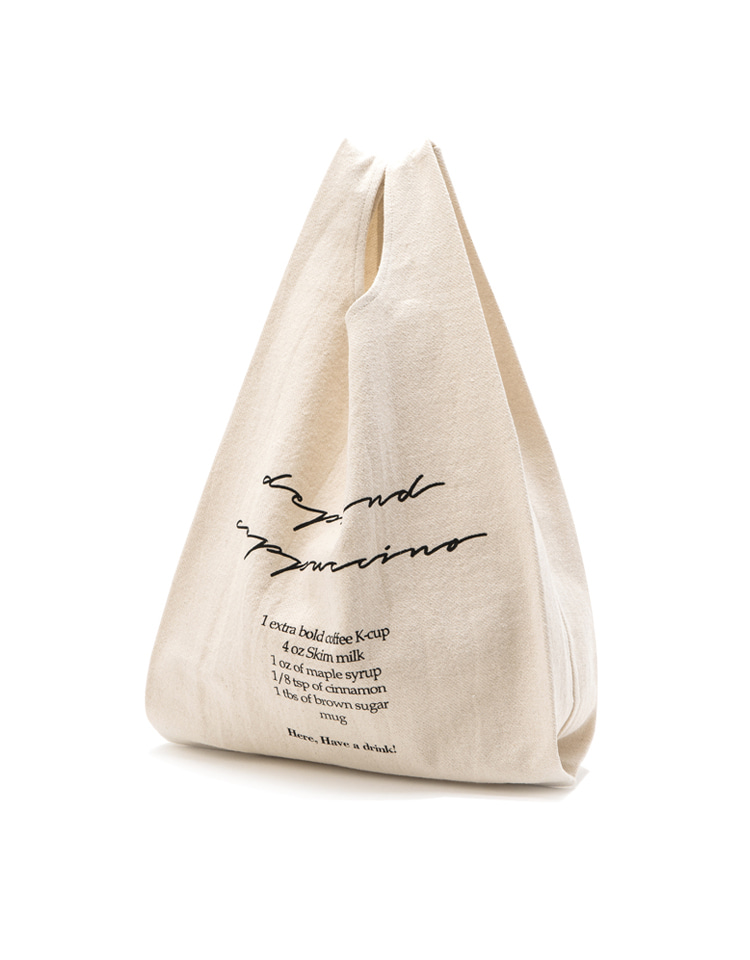 coffee bag (ivory - cappuccino)