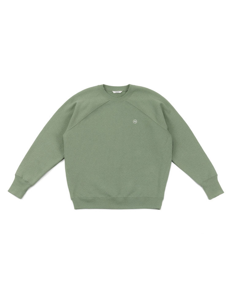 logo sweatshirt (mint)
